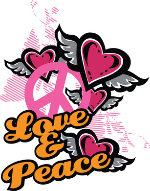 Peace and 사랑 <3