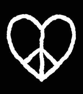 Peace sign heat <3