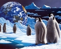 Penguins - keep-earth-green wallpaper