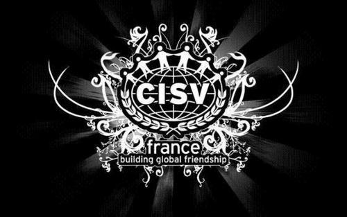 Possibly the coolest CISV-logo I've ever seen