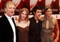 Rachel Hurd-Wood with Alan Rickman, Ben Wishaw and Jessica Schwarz