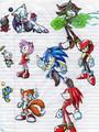 Random Sonic Characters