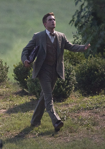 "Rob on ""Water For Elephants"" Set, Georgia"