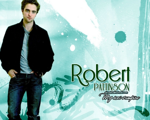 edward e bella wallpaper titled Rob sexy vampire