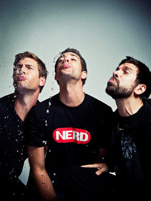 Ryan McPartlin, Zachary Levi & Joshua Gomez: Comic Con 2010 Portrait