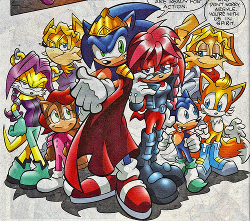 Sonic and the future freedom fighters