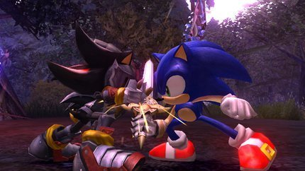 Sonic vs Shadow aka Sir Lancelot