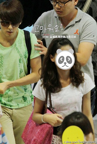 Stalking Wookie @ Gimpo Airport