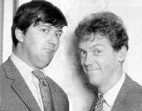 Stephen and Hugh