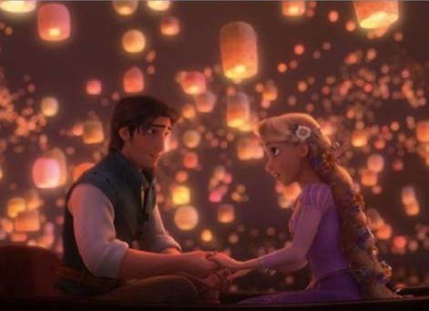 Tangled: Flynn & Rapunzel