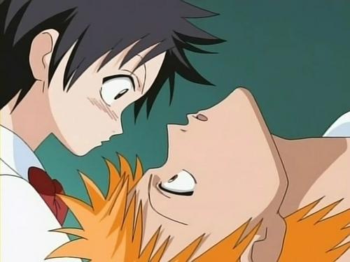 Tatsuki and Ichigo (Kon)