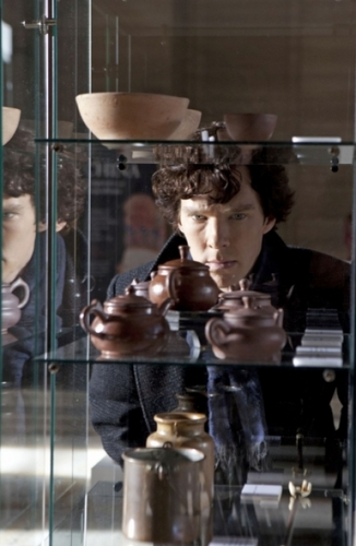 Sherlock on BBC One wallpaper entitled The Blind Banker