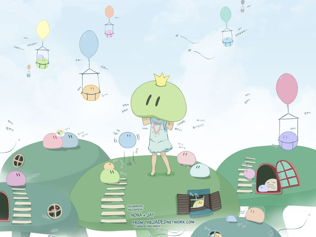 Clannad Images The Dango Queen Of Daikazoku Hd Wallpaper And