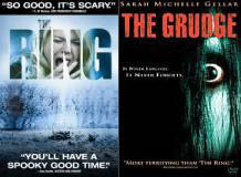 The Ring vs. The Grudge Covers