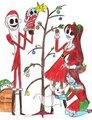 The Skellington Family - tim-burton fan art
