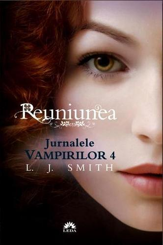 Vampire Diaries Books wallpaper entitled The Vampire Diaries Dark Reunion (Romanian Cover)