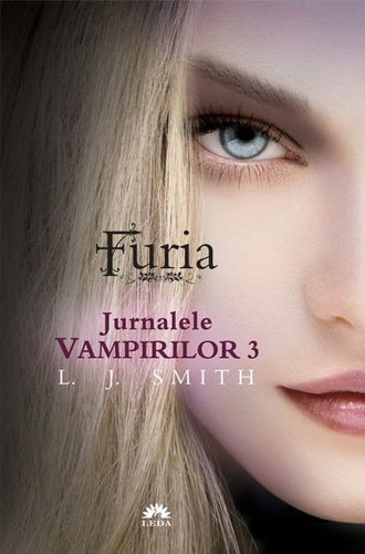 Vampire Diaries sách hình nền titled The Vampire Diaries The Fury (Romanian Cover)