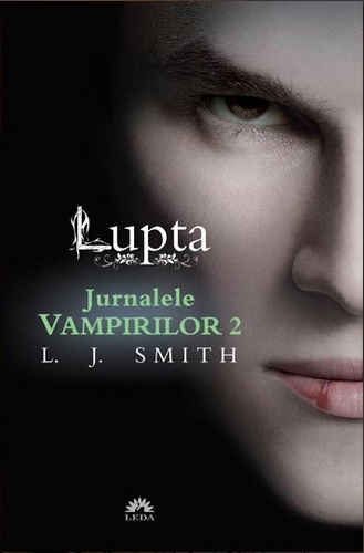 Vampire Diaries Books wallpaper titled The Vampire Diaries The Struggle (Romanian Cover)