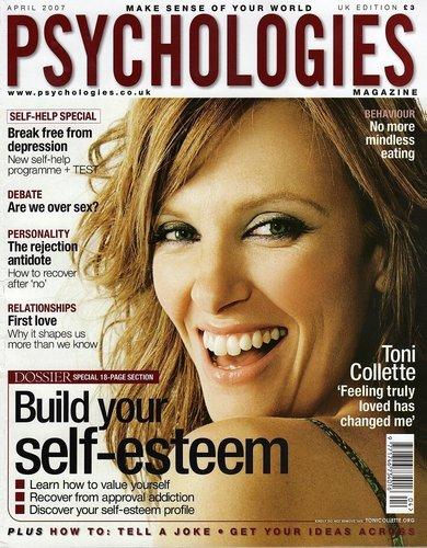 Toni Collette -  Psychologies Magazine