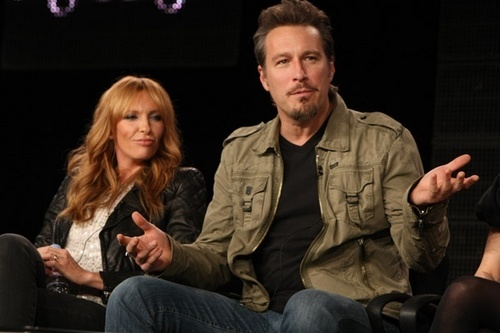 Toni Collette and John Corbett @ Showtime's Winter TCA