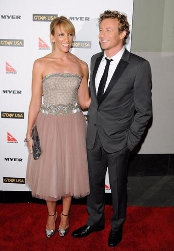 Toni Collette and Simon Baker @ G'Day USA's Black Tie Gala