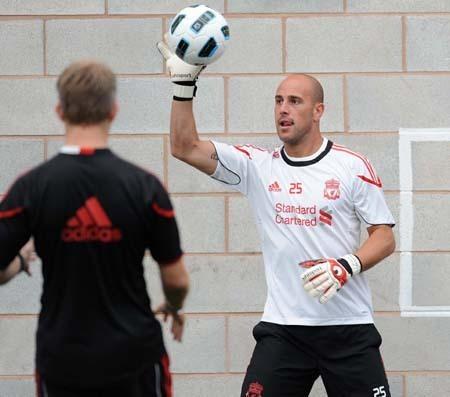 Torres returns to training.