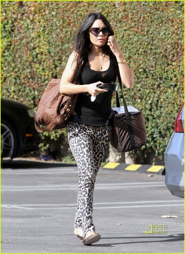 Vanessa out in LA
