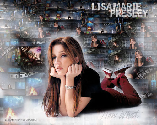 Lisa Marie Presley wolpeyper called Vexi Loves Lisa! :]