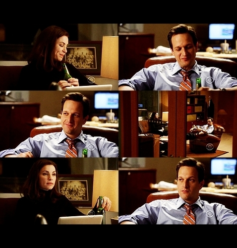 The Good Wife wallpaper entitled Will & Alicia: 1x05 - Crash