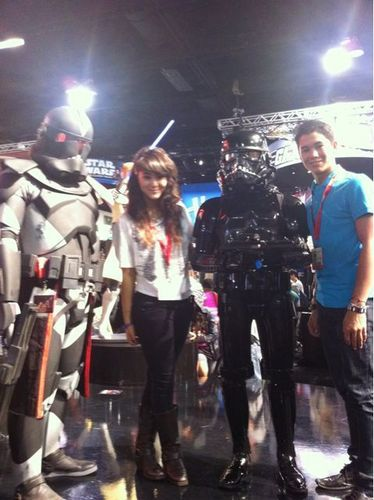 boo boo at comic con 2010