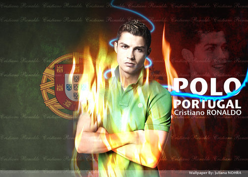 cr7 on fire