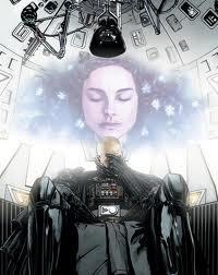 darth vader thinking of Padme