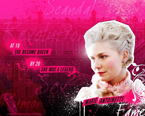 담홍색, 핑크 Marie Antoinette movie 바탕화면