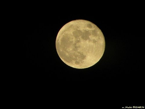 the moon that i have taken - moon Photo