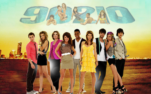 90210 wallpaper entitled 90210 Cast