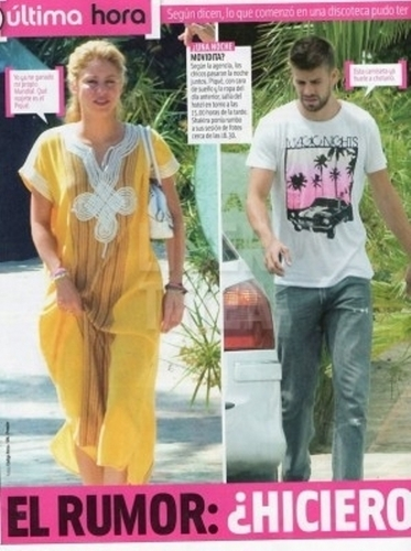 According to Spanish magazine, Shakira and Gerard spent two nights together in a hotel room