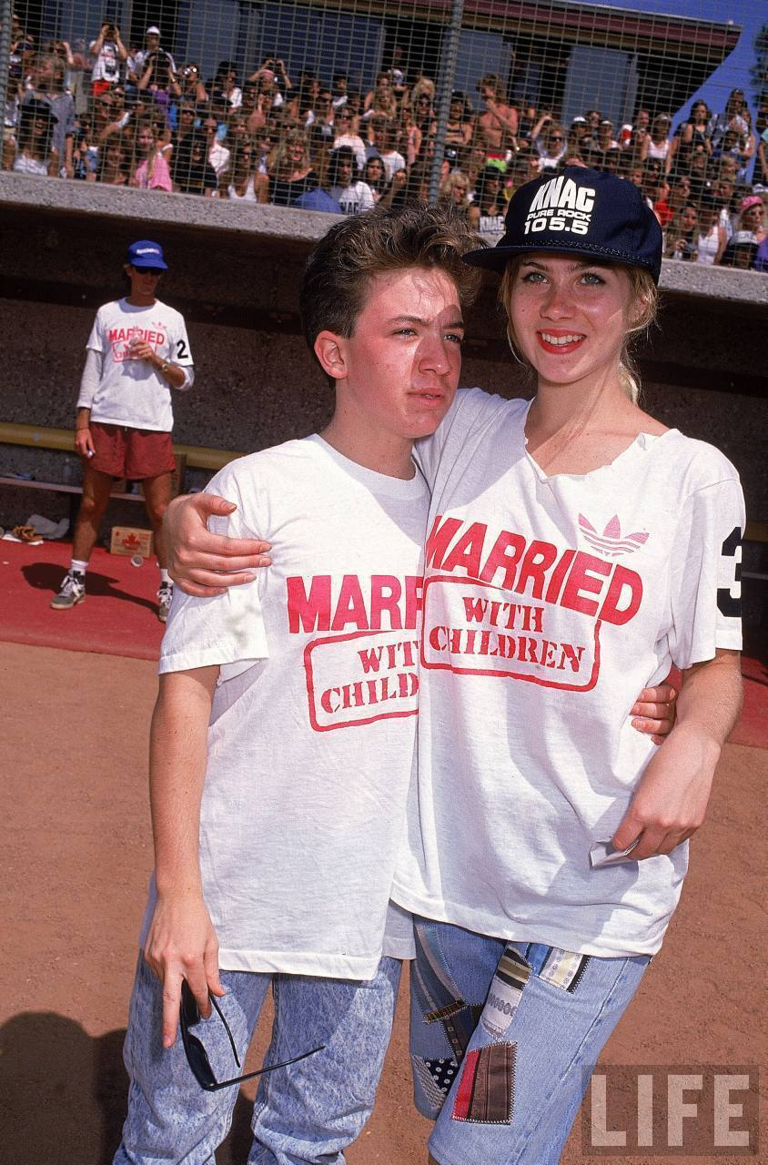 Christina Applegate from Married… with Children Gave