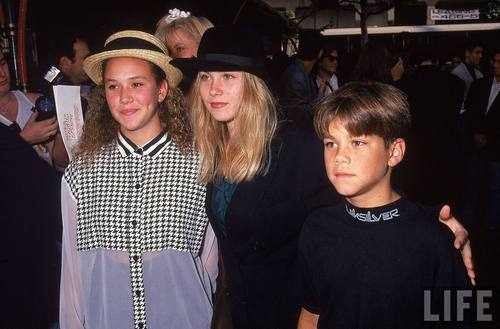 Actress Christina Applegate with Her Brother and Sister in 1991