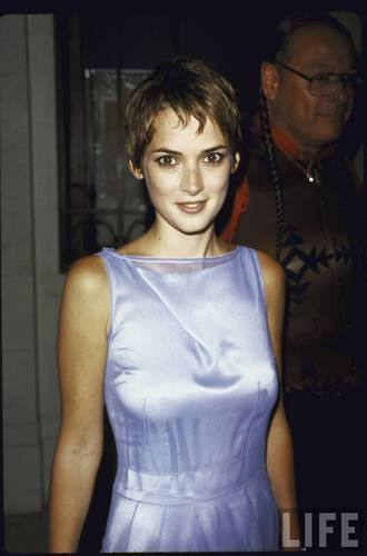 Actress Winona Ryder on June 23, 1998