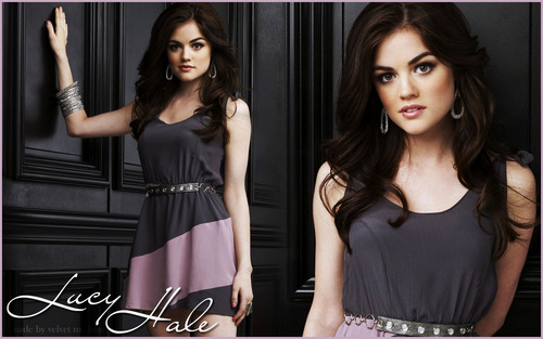 Pretty Little Liars TV Show wallpaper called Aria Montgomery - Lucy Hale