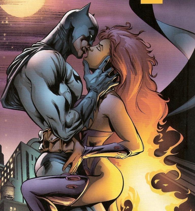 Batman and Starfire