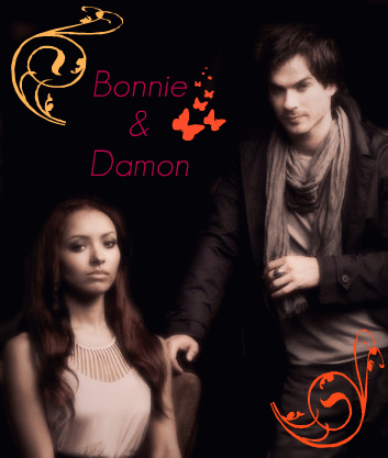 Bonnie & Damon - damon-and-bonnie Fan Art
