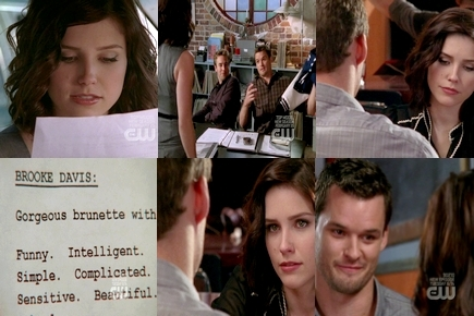 Brooke and Julian karatasi la kupamba ukuta entitled Brooke & Julian Momentsღ 6x16