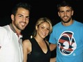 Cesc, Piqué & Shakira - shakira photo