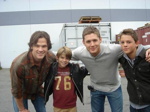 Colin & Ridge with Jensen & Jared