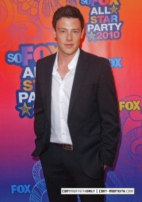 Cory @ rubah, fox Summer TCA All-Star Party 2010