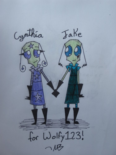 Cynthia and Jake!!!