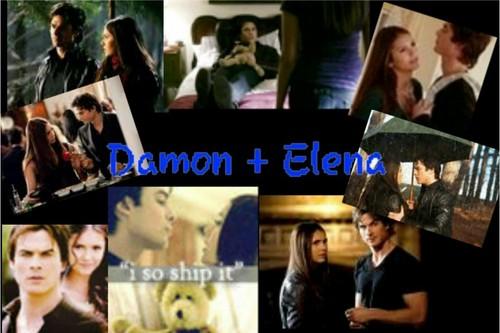 Damon Elena <3