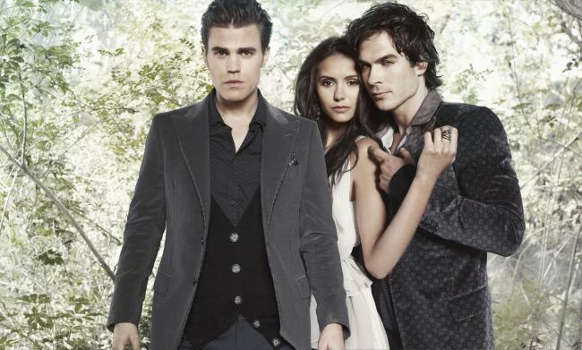 Damon Salvatore images Damon, Stefan, Elena wallpaper and ...