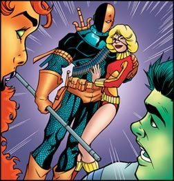 Deathstroke and Terra